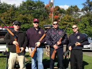 DELMAR FIRE DEPT HOSTED A TRAP SHOOTING TOURNAMENT WITH ONESQUATHAW FIRE CO