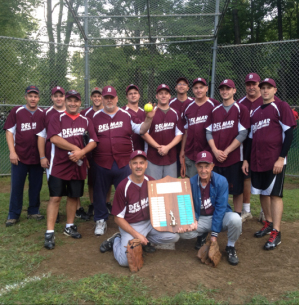 "DELMAR FD SOFTBALL TEAM WINS THE COOPER VARNEY SOFTBALL LEAGUE 2013 ""B"" DIVISION CHAMPIONSHIP!"