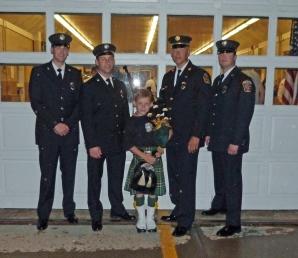 DELMAR FIRE DEPT REPRESENTS AT 9/11 MEMORIAL