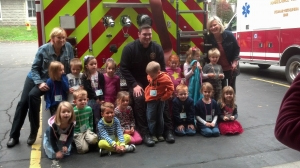 FIRE PREVENTION SEASON KICKS OFF WITH TRI VILLAGE NURSERY SCHOOL