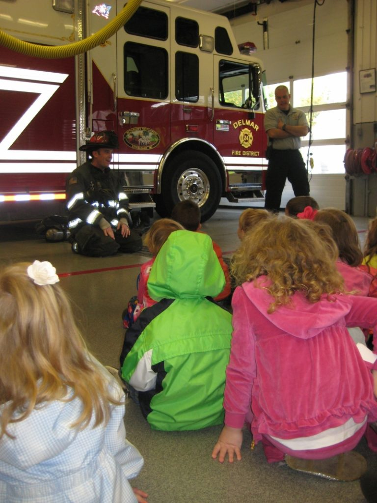 Fire Prevention With Tri Village Nursery School Part 2