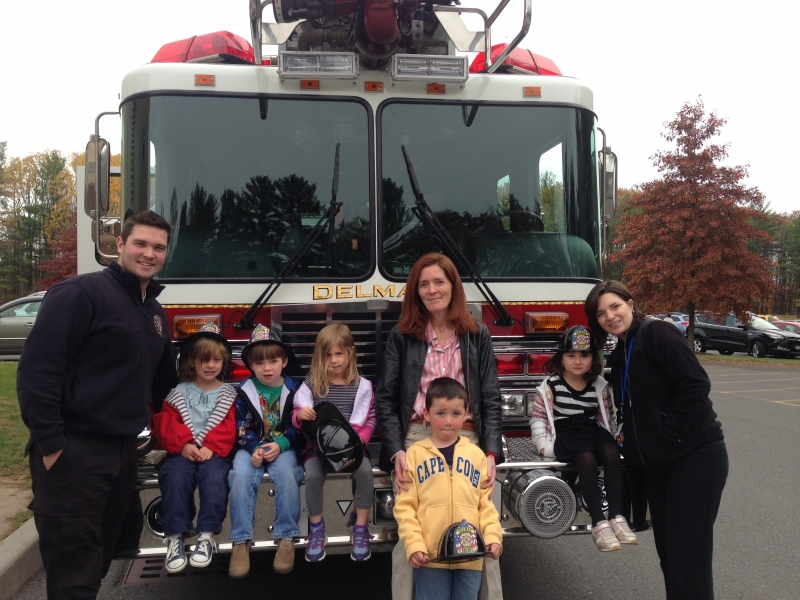 Bethlehem Area YMCA Welcomes Delmar Fire Department For Fire Prevention