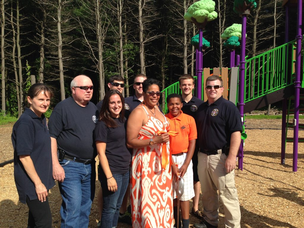 Playground Dedication … In Memory of Honorary DFD Member Myles McAdoo