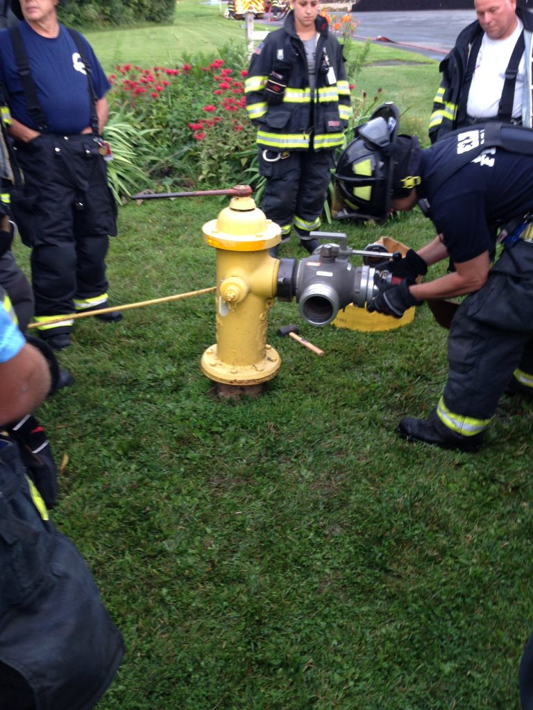 Delmar FD Participates In A Water Supply Drill