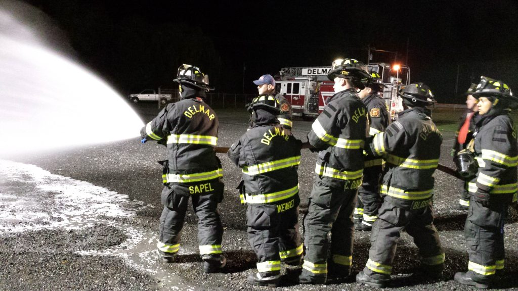Delmar Firefighters Participate In Foam Application Training