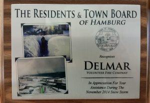 Buffao Snowstorm TY Plaque
