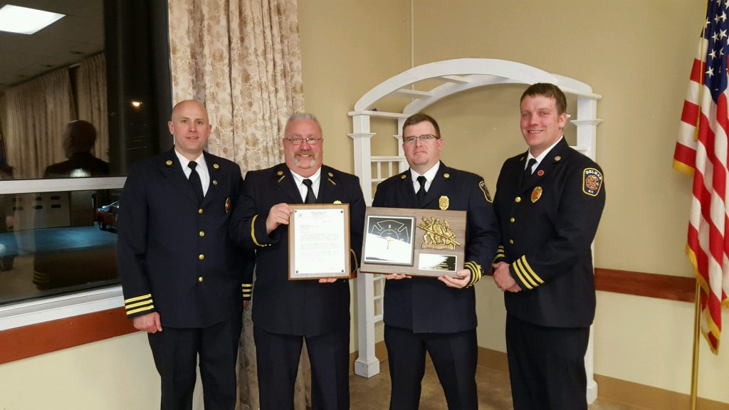 2015 Firefighter Of The Year … Michael Gervais … Congratulations !!!