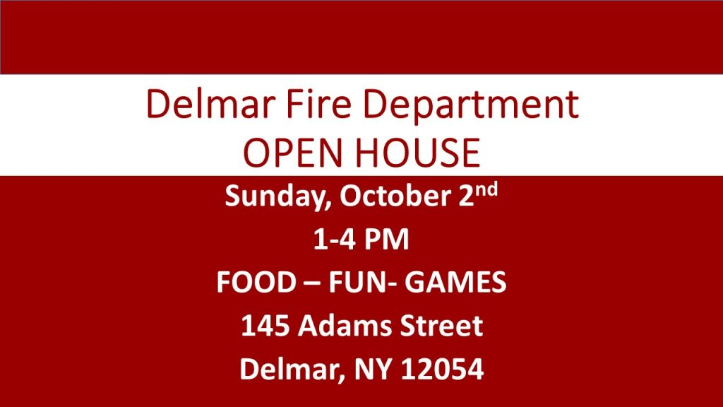 OPEN HOUSE … PLEASE COME JOIN US … Sunday October 2nd