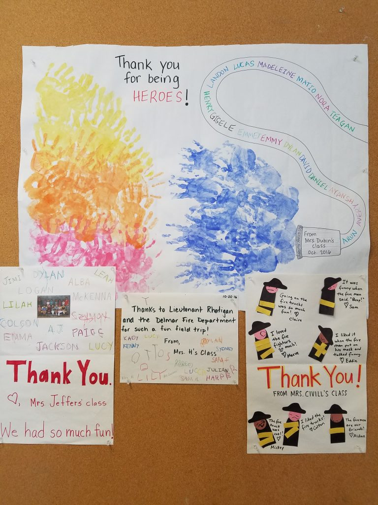 Tri Village Nursery School Shows Their Appreciation