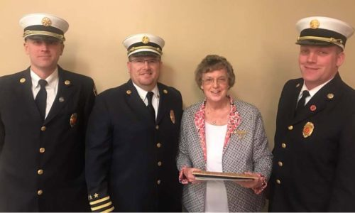 The Delmar Fire Department Names Their 2016 Firefighter Of The Year … Carolyn Day
